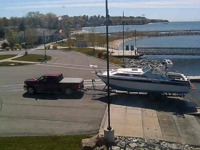 Michigan Snow Cams Port Austin Webcam